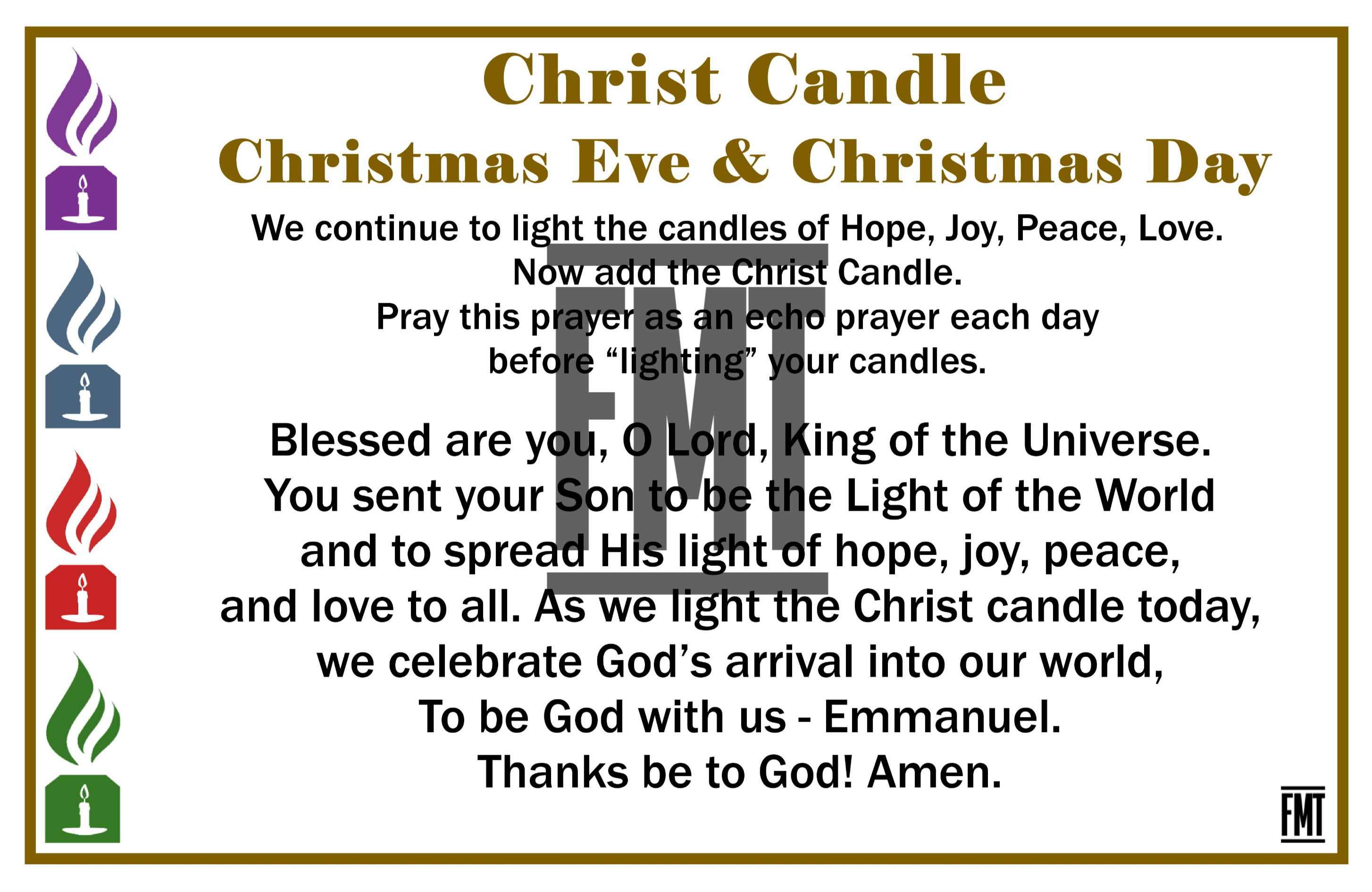 Candles WM