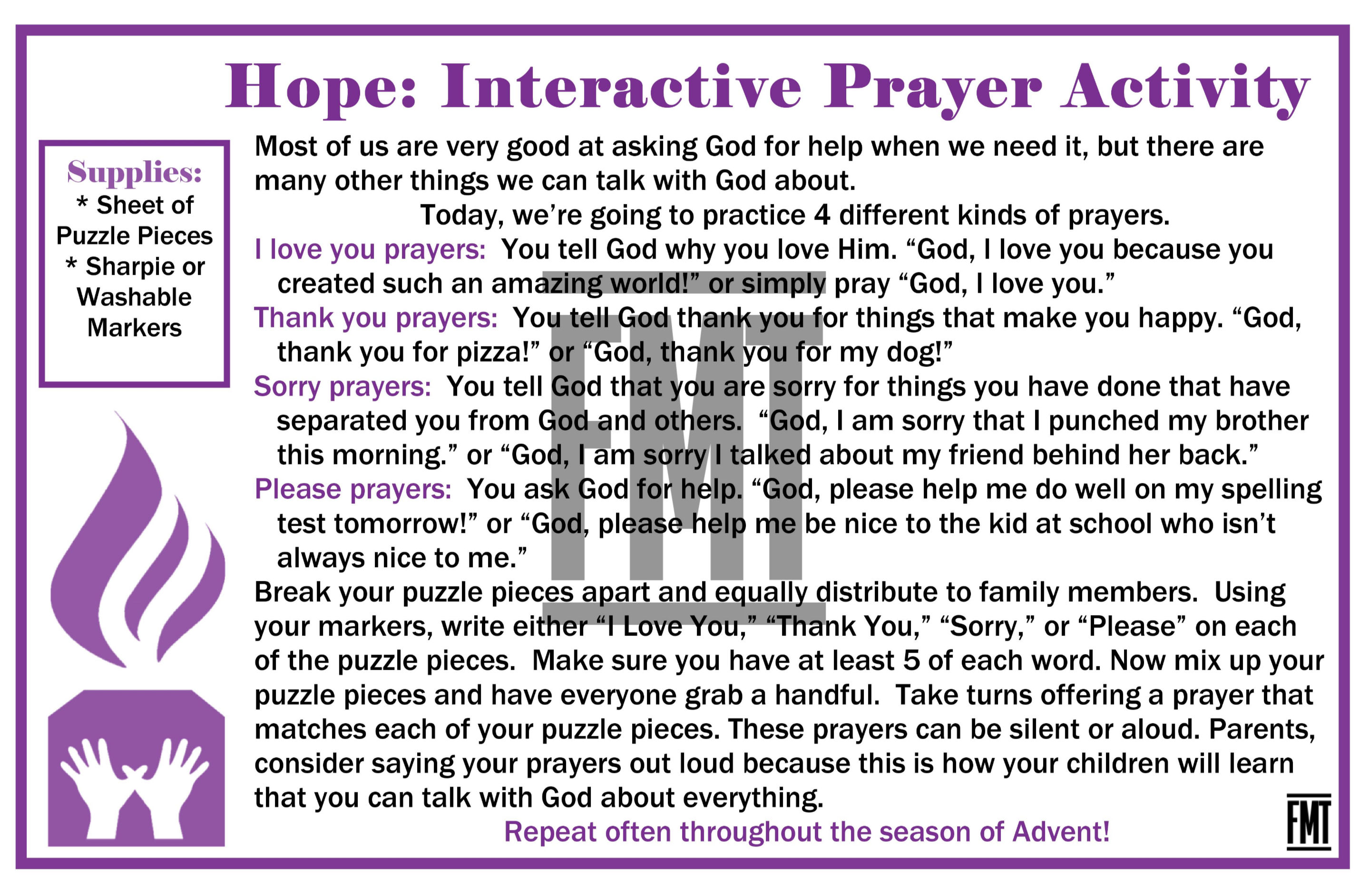 Hope Prayer WM